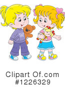 Girl Clipart #1226329 by Alex Bannykh