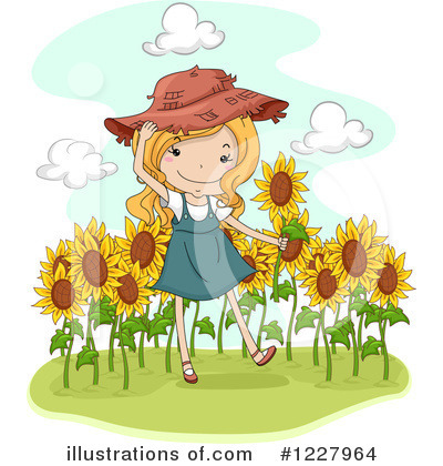 Girl Clipart #1227964 by BNP Design Studio