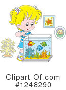 Girl Clipart #1248290 by Alex Bannykh
