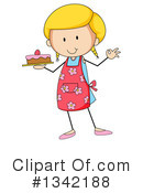 Girl Clipart #1342188 by Graphics RF