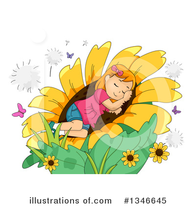 Royalty-Free (RF) Girl Clipart Illustration by BNP Design Studio - Stock Sample #1346645