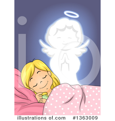 Guardian Angel Clipart #1363009 by BNP Design Studio