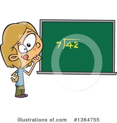 Math Clipart #1364755 by toonaday