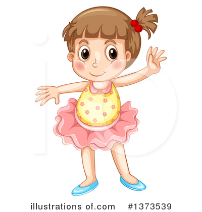Ballerina Clipart #1373539 by Graphics RF