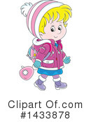 Girl Clipart #1433878 by Alex Bannykh