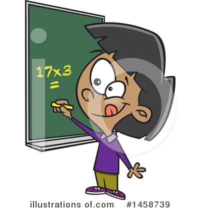 Math Clipart #1458739 by toonaday