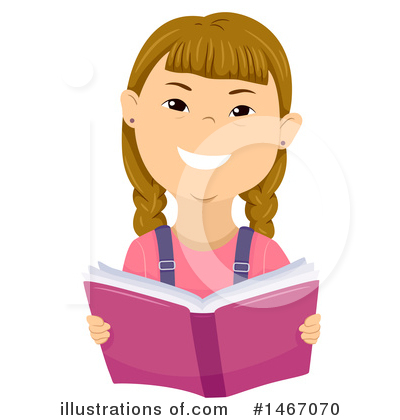 Reading Clipart #1467070 by BNP Design Studio