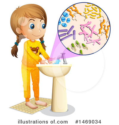 Hand Washing Clipart #1469034 by Graphics RF