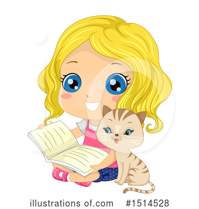 Reading Clipart #1514528 by BNP Design Studio
