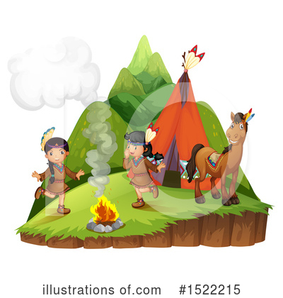 Campfire Clipart #1522215 by Graphics RF