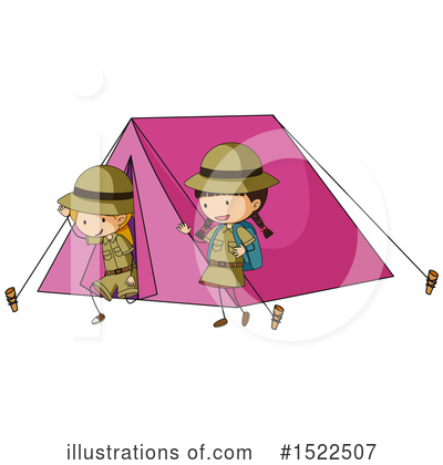 Camping Clipart #1522507 by Graphics RF