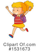 Girl Clipart #1531673 by Graphics RF
