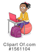 Girl Clipart #1561104 by BNP Design Studio