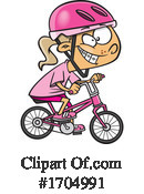 Girl Clipart #1704991 by toonaday