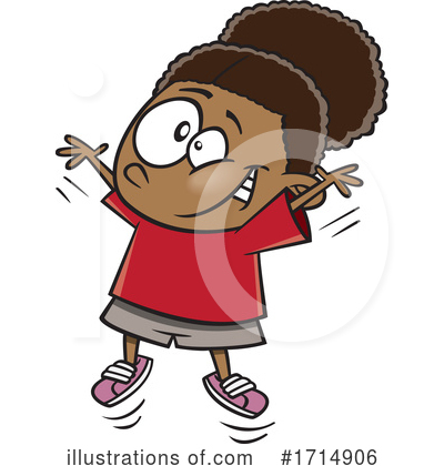 Girl Clipart #1714906 by toonaday