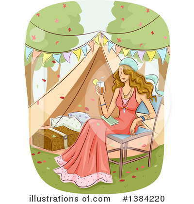 Camping Clipart #1384220 by BNP Design Studio