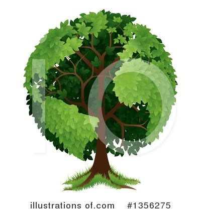 Tree Clipart #1356275 by AtStockIllustration