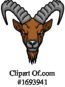 Goat Clipart #1693941 by Vector Tradition SM