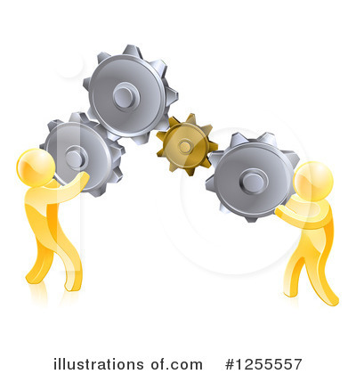 Teamwork Clipart #1255557 by AtStockIllustration