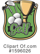 Golf Clipart #1596026 by Vector Tradition SM