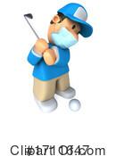 Golfer Clipart #1711647 by Julos