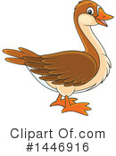 Goose Clipart #1446916 by Alex Bannykh