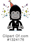 Gorilla Clipart #1324176 by Cory Thoman