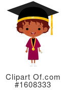 Graduate Clipart #1608333 by Melisende Vector