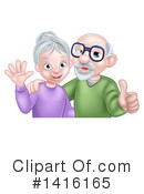 Grandparents Clipart #1416165 by AtStockIllustration