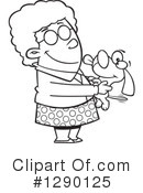 Granny Clipart #1290125 by toonaday