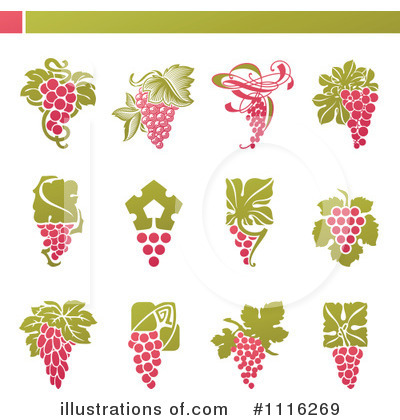 Grapes Clipart #1116269 by elena