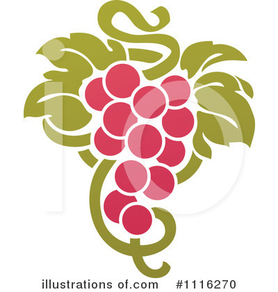 Grapes Clipart #1116270 by elena