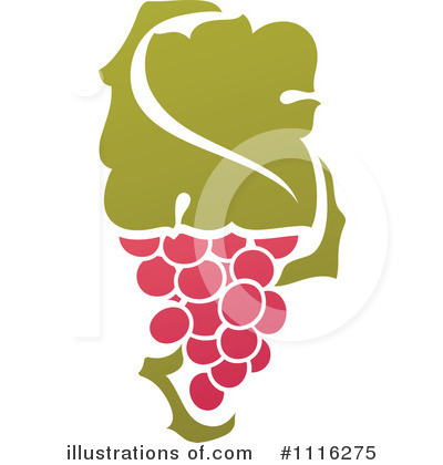 Grapes Clipart #1116275 by elena