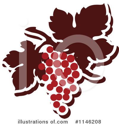 Grapes Clipart #1146208 by elena