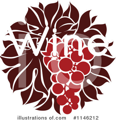 Grapes Clipart #1146212 by elena