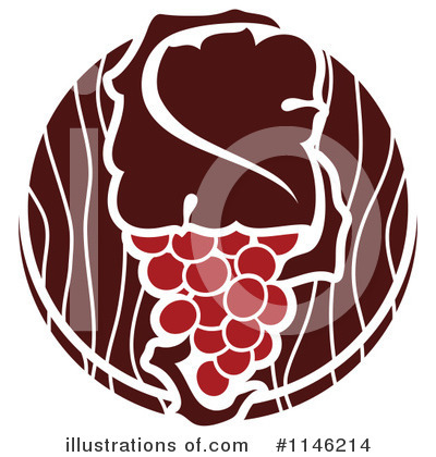 Grapes Clipart #1146214 by elena