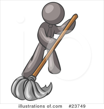 Cleaning Clipart #23749 by Leo Blanchette