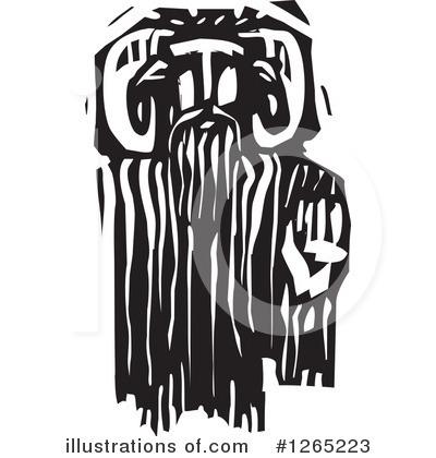 Greek God Clipart #1265223 - Illustration by xunantunich