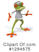 Green Frog Clipart #1284675 by Julos