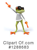 Green Frog Clipart #1288683 by Julos