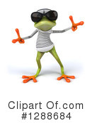 Green Frog Clipart #1288684 by Julos