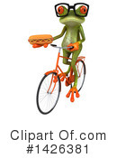 Green Frog Clipart #1426381 by Julos