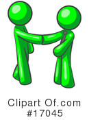 Green Man Clipart #17045 by Leo Blanchette