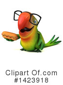 Green Parrot Clipart #1423918 by Julos