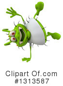Green Virus Clipart #1313587 by Julos