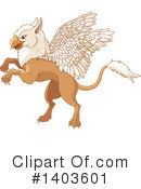 Griffin Clipart #1403601 by Pushkin