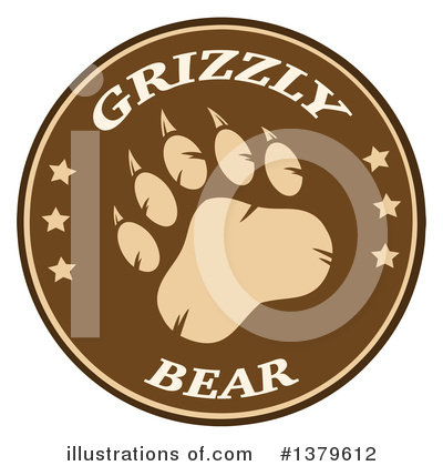 Paw Prints Clipart #1379612 by Hit Toon