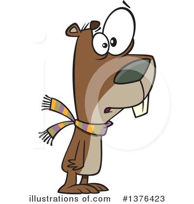 groundhog clipart 1376423 illustration by toonaday rh illustrationsof com Groundhog Clip Art Groundhog Shadow Clip Art