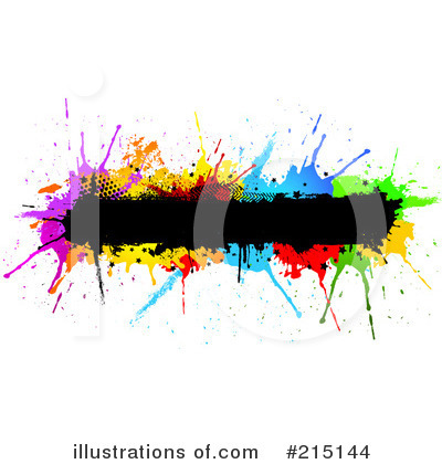 Splatters Clipart #215144 by KJ Pargeter