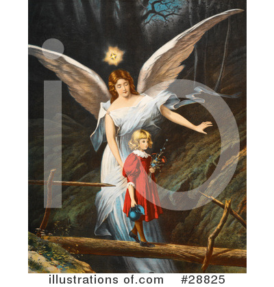Guardian Angel Clipart #28825 by OldPixels